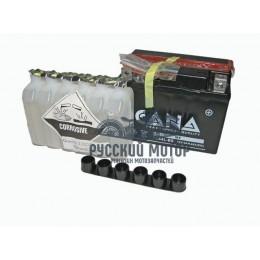 Аккумулятор CANA 12v/12hr YB12B-B2 (145EN, MF, DC)