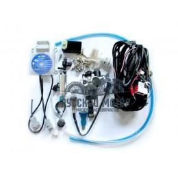 Инжектор для мотоцикла GN250 d-34 мм впускной закрытого типа (комплект для установки)
