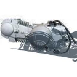 Двигатель YX 125сс кикстартер запуск с нейтрали