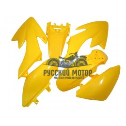 Комплект пластика для питбайка CRF50 (желтый)