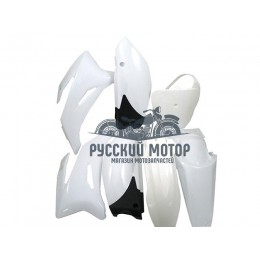 Комплект пластика для питбайка TTR (белый)