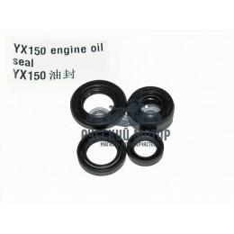 Набор сальников YX150 (4 штуки)