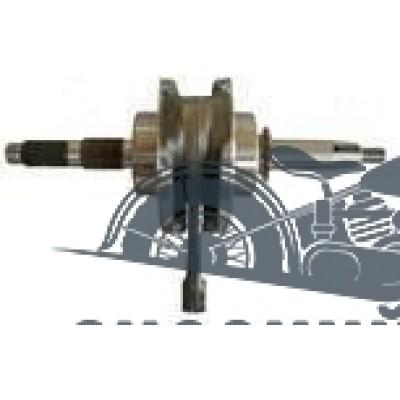 Коленвал YX140 запуск с любой передачи