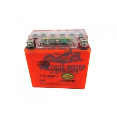 Аккумулятор OUTDO YTX5L-BS (12v/ 5hr) I-GEL+тестер (114*70*106) 10