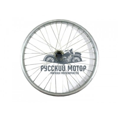 20' заднее колесо хром на стакане (обод 20'+спица 20'+корпус задней втулки) 3062002