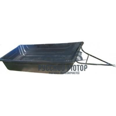 Сани волокуши №6 с рамной конструкцией и сцепным устройством 1900*900*300