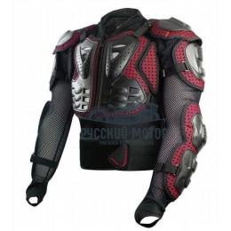 Куртка защитная (черепаха) AM02-2 красная (S) Scoyco