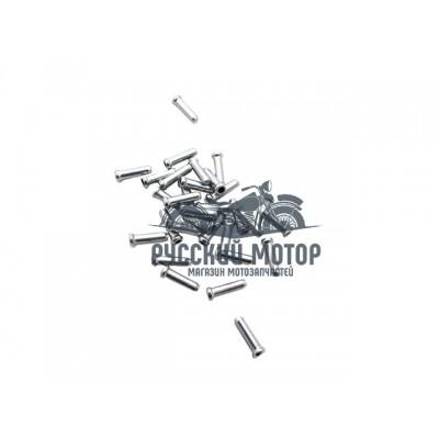 Наконечник-заглушка тросика(тормозного и переключения) Alhonga HJ-D1001, цена за 500 шт 3122641