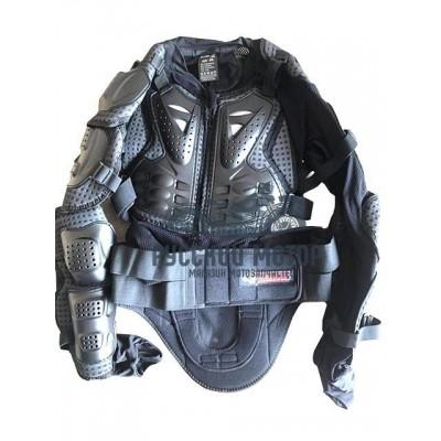 Куртка защитная (черепаха) AM02 черная (XL) Scoyco THUNDER WOLF