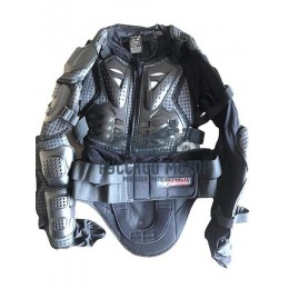 Куртка защитная (черепаха) AM02 черная (XXXL) Scoyco WolfHuntinG