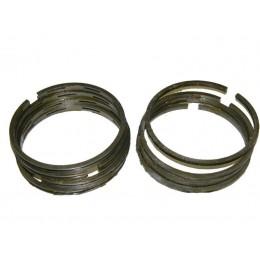 Кольца  1 ремонт, чугунные 78,2 (в комплекте:4 компресионных+ 4 маслосъёмных кольца) мотоцикла Урал