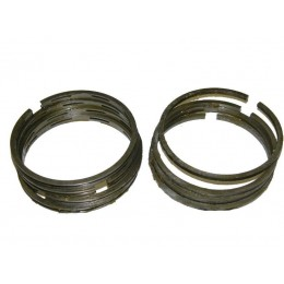 Кольца  2 ремонт чугунные 78,5 (в комплекте: 4 компрессионных+4 маслосъёмных кольца) мотоцикла Урал